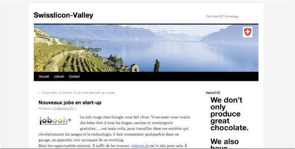 Swissilicon-valley and jobooh.ch