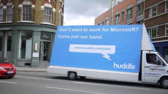 huddle-ad